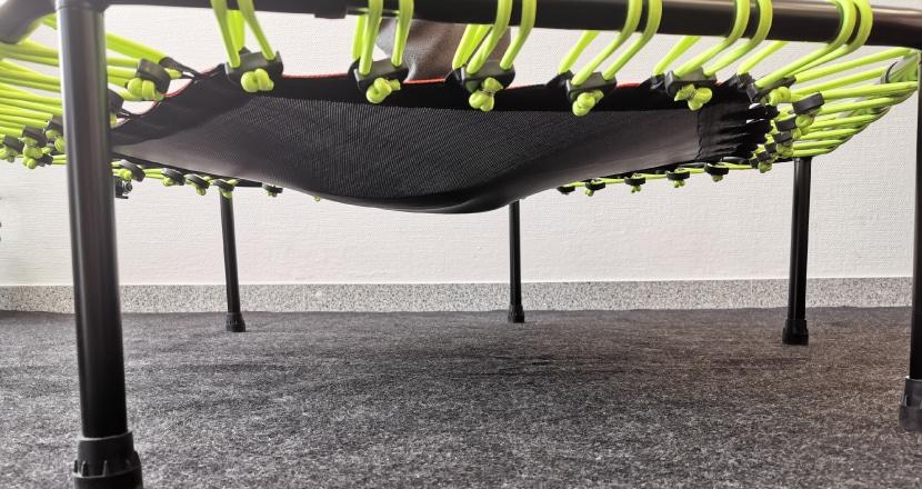 Belastung 53kg mit soften Seilen