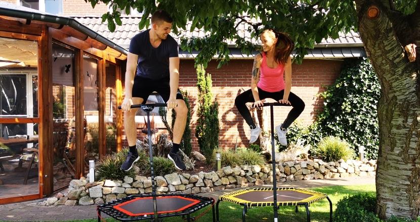 Trampolin Fitness, Fitness Trampolin Test