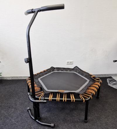 Fazit: Ampel 24 Fitness Trampolin Test