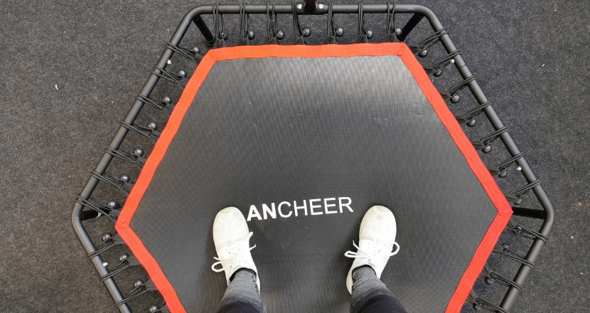 Ancheer Fitness Trampolin Test