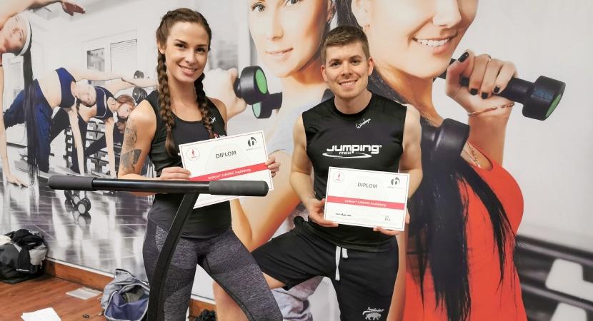 Fitness Trampolin Erfahrungen - Trainer