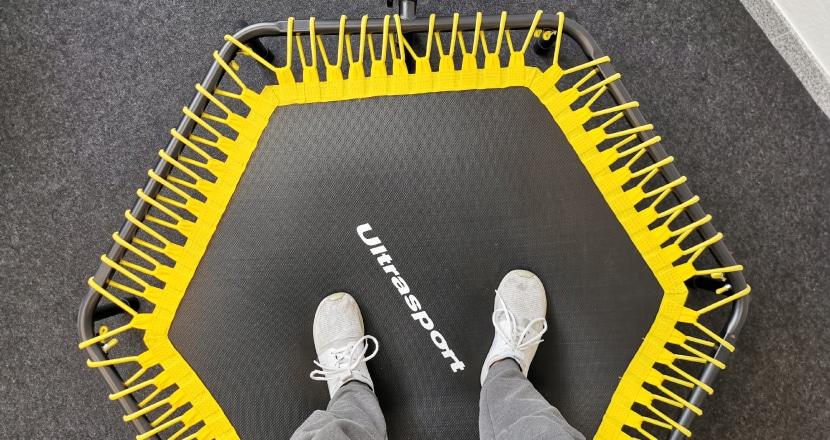 trimilin trampolin test