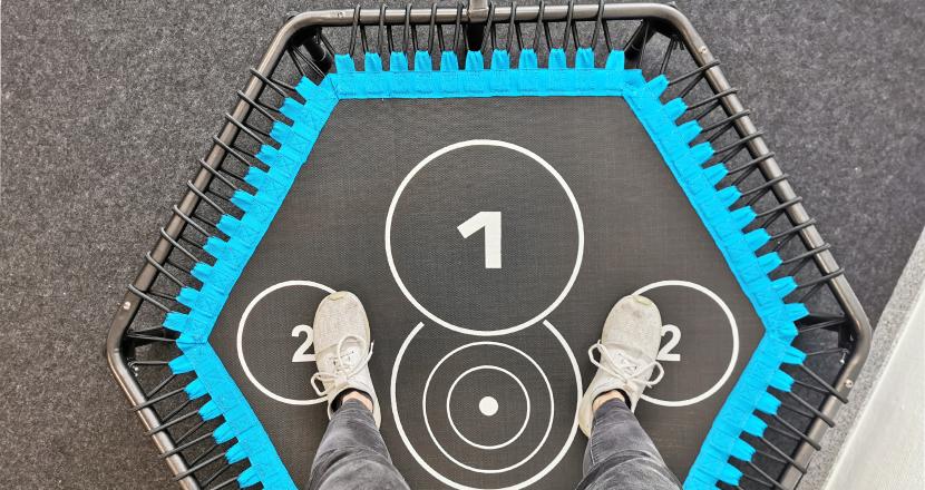 HAMMER Corss Jump Fitness Trampolin Erfahrungen