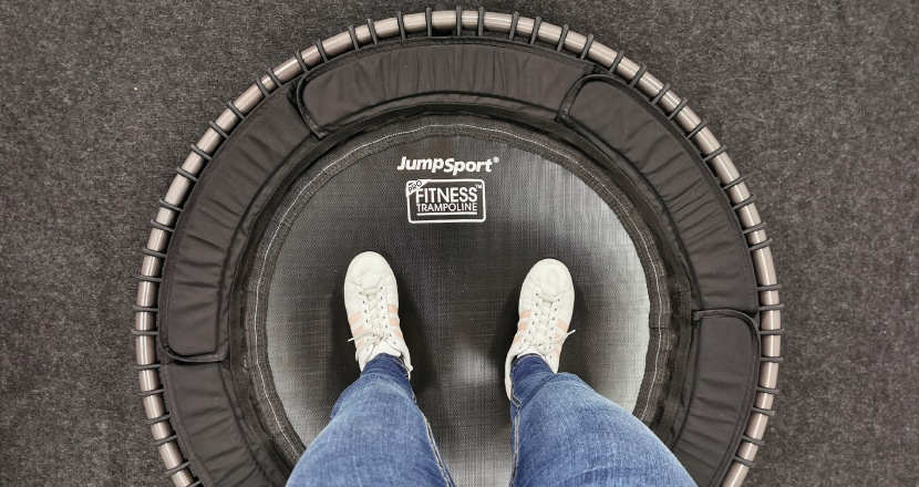 JumpSport Fitness Trampolin Test