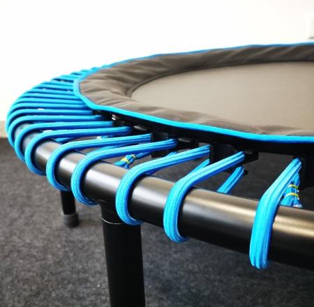 Mattentyp Komfort mit blauen Seilringen