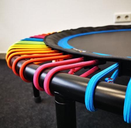 Seilringfarbe Regenbogen