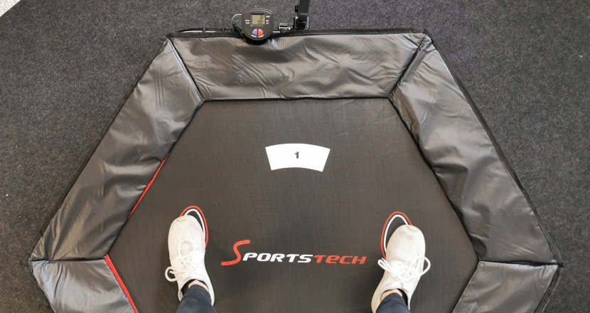 Sportstech Fitness Trampolin Test