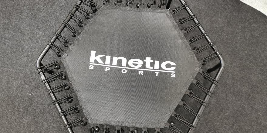 Sprungqualität vom Kinetic Trampolin