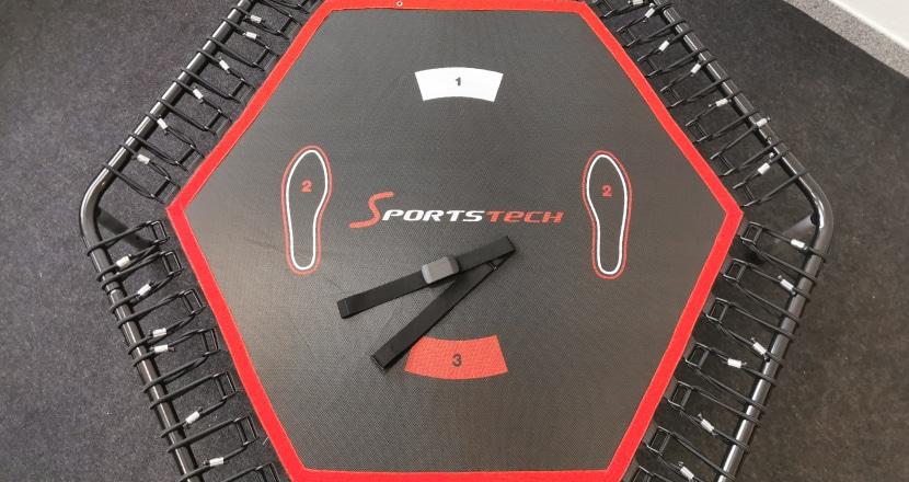 Unsere Erfahrungen mit dem Sportstech Fitness Trampolin, Sprungqualität, kaufen
